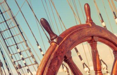 Affisch Ratt av gamla segelfartyg