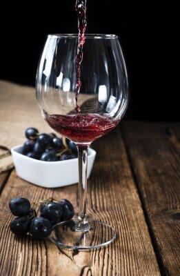Affisch Rödvin
