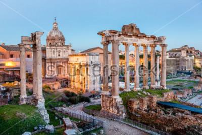 Affisch Roman Forum i Rom