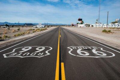 Affisch Route 66 tecken