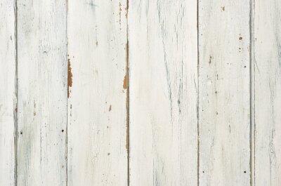 Affisch Rustik vit trä bakgrund