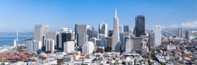 Affisch San Francisco panorama