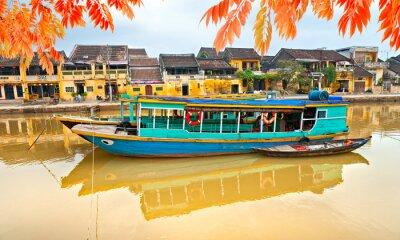 Affisch Se på den gamla staden Hoi An. vietnam