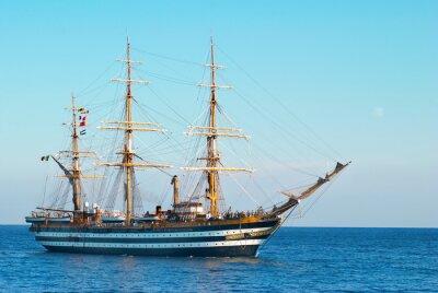 Affisch Segelfartyg