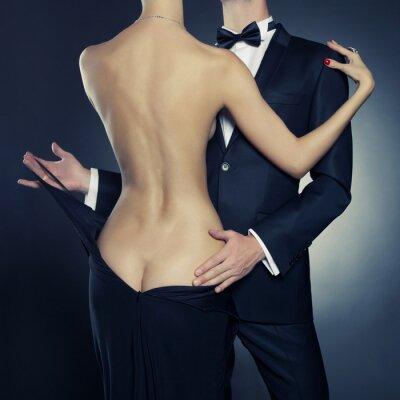 Affisch sensuell par