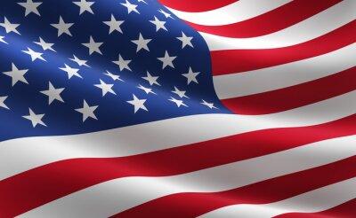 Affisch Sjunka av Amerikas förenta stater