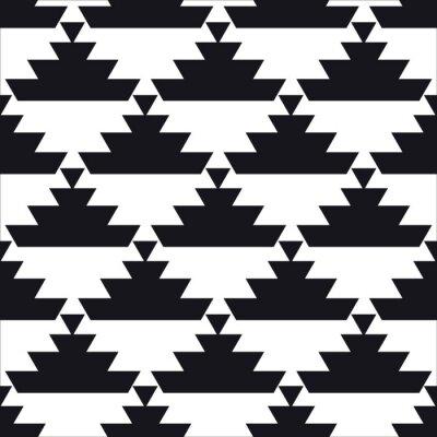 Affisch sömlösa geometriska mönster