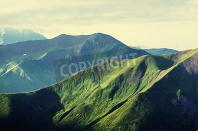 Affisch Sommar gröna kullar