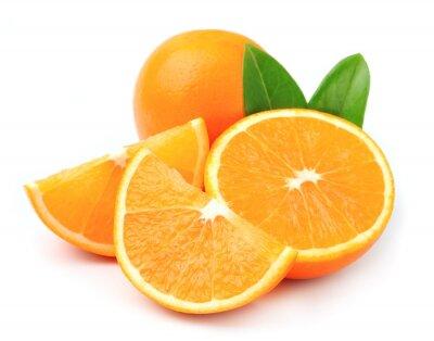 Affisch Söt apelsin frukt