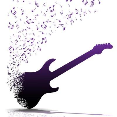 Affisch Spela gitarr