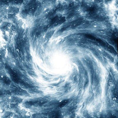 Affisch spiral Galaxy