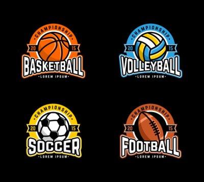 Affisch Sport Badge