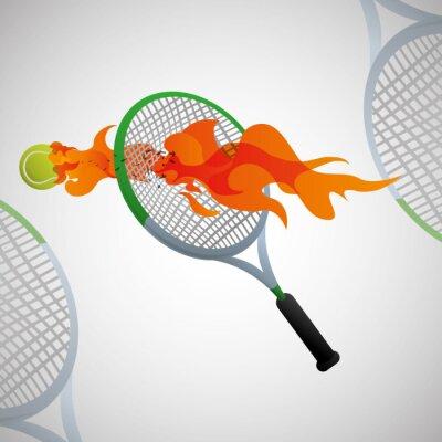 Affisch Sport ikonen design