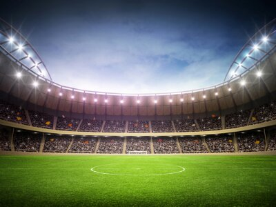 Affisch stadion natt