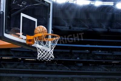 Affisch Stor basket arena med kopia utrymme