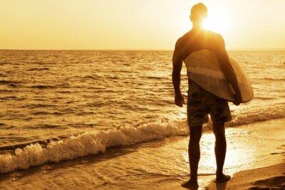 Affisch Surfing, Australien, Surfbräda.