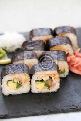 Affisch sushi