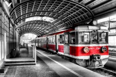 Affisch Tåg