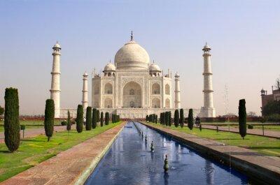 Affisch Taj Mahal mausoleum, Agra, Indien