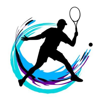 Affisch Tennis - 197
