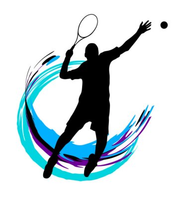 Affisch Tennis - 199