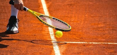 Affisch tennis