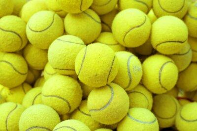Affisch tennis boll