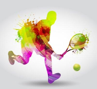 Affisch Tennis, Competizione, torneo