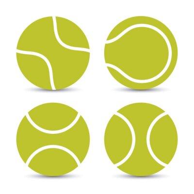 Affisch tennis utformning