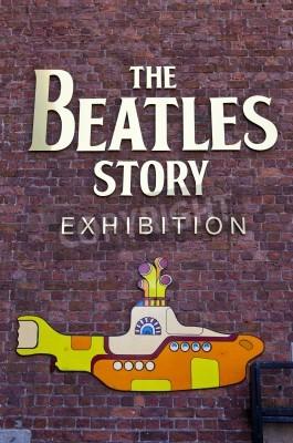 Affisch The Beatles Story utställning i Liverpool