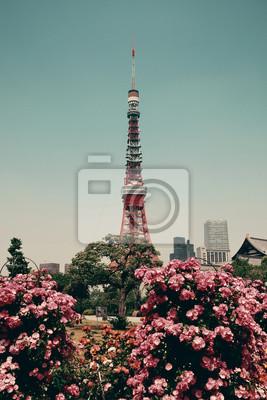 Affisch Tokyo Tower