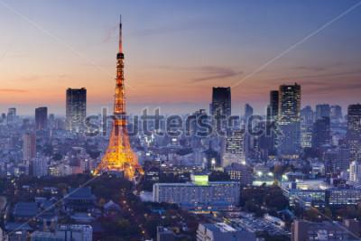 Affisch Tokyo Tower, Tokyo, Japan