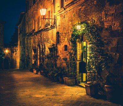 Affisch Toskansk restaurang i Pienza