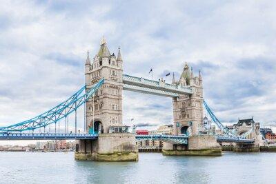 Affisch Tower Bridge i London, Storbritannien