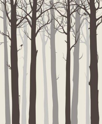 Affisch träd