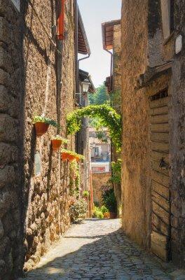 Affisch Traditionella italienska hem