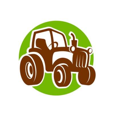 Affisch traktor fermer icon