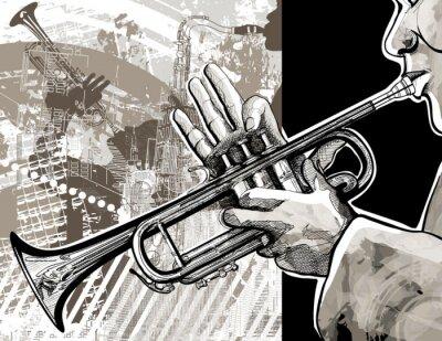 Affisch trumpet