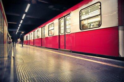 Affisch tunnelbana