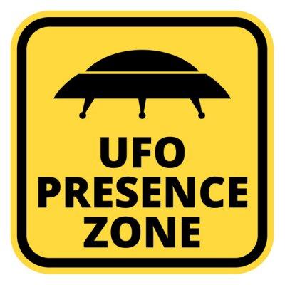 Affisch UFO fartyg