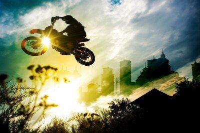 Affisch Urban Dirt Bike Jump
