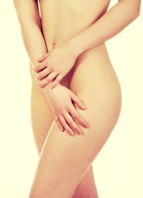 Affisch Vacker kvinnas kropp.