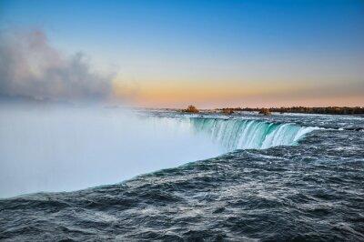 Affisch Vackra Niagara vattenfall, Kanada