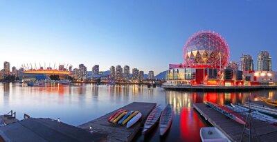 Affisch Vancouver i Kanada