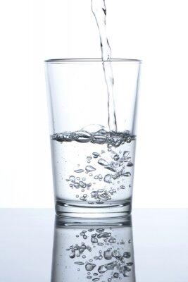 Affisch Vaso con agua
