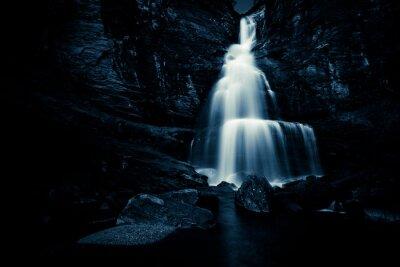 Affisch vattenfall i natt