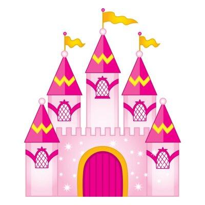 Affisch Vector Magic Fairytale Castle