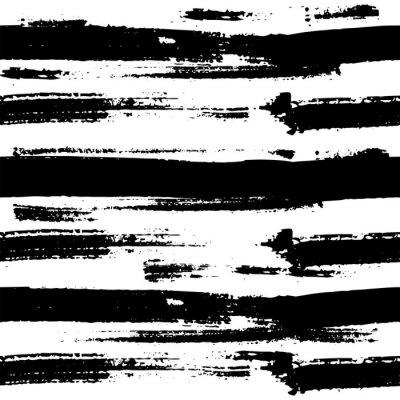 Affisch Vektor sömlösa mönster. Tillverkad med bläck.