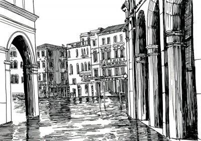 Affisch Venedig A