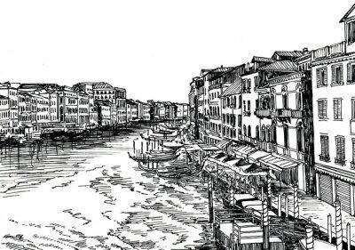 Affisch Venedig B
